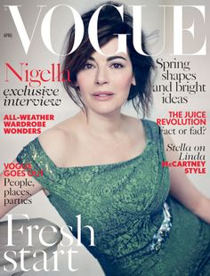 Nigella Lawson, Vogue UK