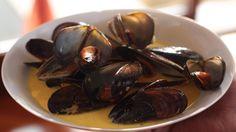 Saffron mussel recipes