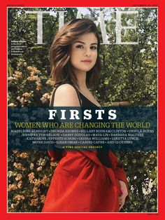 Selena Gomez Looks Radiant & Gives Off Total Alex Russo Vibes On Her First 'Time' Magazine Cover Madeleine Albright, Rita Moreno, Hillary Rodham Clinton, Michelle Phan, Gabby Douglas, Danica Patrick, Rachel Maddow, Time Magazine, Magazine Covers