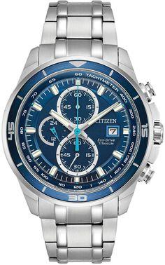 ffbddf041697 Citizen Eco-Drive Men s TI + IP Super Titanium Watch - CA0349-51L