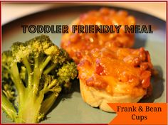 Frank and bean cups are super easy for any child to make and enjoy.