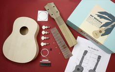 Un ukulele en kit à fabriquer