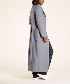 Buitenjas long topcoat