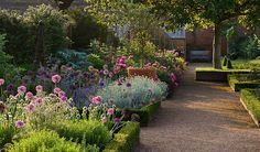 Morning Light brightens a Lovely Garden Path - Photo by Clive Nichols