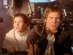 Hahaha, Leia's expressions in ESB are sometimes hysterical. Her acting was really good in that movie.