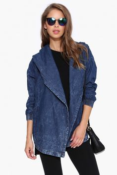 Charlie Denim Jacket in Denim | Necessary Clothing