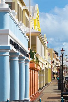Visit colorful Front Street in the city of Hamilton, Bermuda. Bermuda is just a short flight from New York or Boston. Experience its beauty with a JetBlue Getaways vacation (air + hotel). Bermuda Vacations, Bermuda Travel, Dream Vacations, Vacation Spots, Beach Travel, Luxury Travel, Oh The Places You'll Go, Places To Travel, Travel Stuff