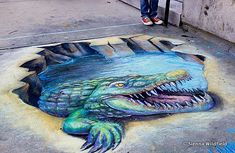 Sidewalk Chalk Art in Downtown Northampton | Hilltown Families