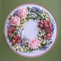 Ribbon embroidery by shauna