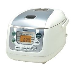 Sanyo Rice Cooker, $100.24 - yeah, just bought this. It's pretty