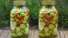 Pickles, Cucumber, Mason Jars, Vegetables, Recipes, Cook, Youtube, Recipies, Mason Jar