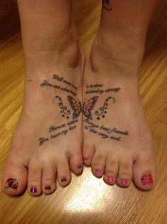 sister tattoos - Bing images - New Ideas Cute Sister Tattoos, Mom Daughter Tattoos, Sister Tattoo Designs, Bestie Tattoo, Bff Tattoos, Family Tattoos, Tattoos For Daughters, Tattoo Designs For Women, Foot Tattoos
