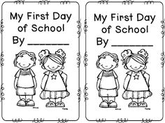 My First Day of School Freebie First Grade Funtastic