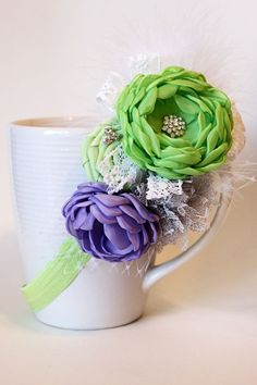 TInkerbell Headband by JensBowdaciousBows on Etsy, $14.95