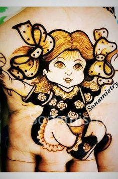 Fashion Drawing Kids Artists 46 Ideas For 2019 Baby Mehndi Design, Mehndi Designs For Kids, Indian Mehndi Designs, Stylish Mehndi Designs, Mehndi Design Pictures, Wedding Mehndi Designs, Latest Mehndi Designs, Mehendhi Designs, Engagement Mehndi Designs