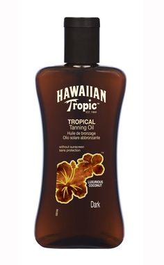 20 claves para subir el tono de tu piel: aceite bronceador de Hawaiin Tropic