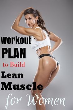 Muscle Building Workout Plan, Lean Muscle Workout Plan, Lean Muscle Meal Plan, Lean Body Workouts, Workout Schedule, Workout Plans, Exercise Plans, Men Exercise, Gym Routine