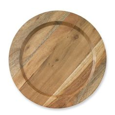 Providence Wood Charger #williamssonoma