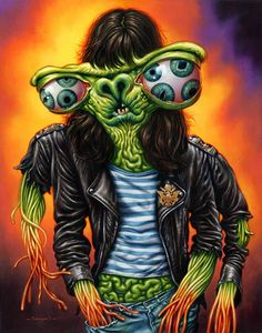 dead [or] alive #Ramones #music #illustration #punx