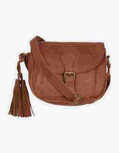 Main image showing Small Saddle Tassel Bag