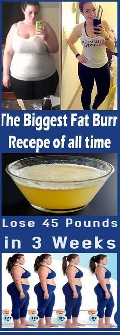 Lose 45 Pounds in 3 Weeks is Easy Now - Natural Health Plus 101 45 Pounds, Lose 15 Pounds, Burn Belly Fat Fast, Lose Belly, Weight Loss Drinks, Weight Loss Goals, Loose Weight, How To Lose Weight Fast, Losing Weight
