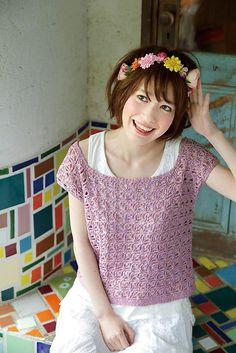 Ravelry: Square Sweater pattern by Pierrot (Gosyo Co., Ltd)