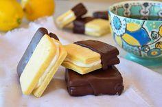 Receta galletitas rellenas de limón