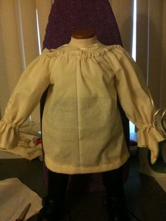 Toddler Peasant Top/Dress Chemise 6 months 4T by MladysCoutorier, $15.95