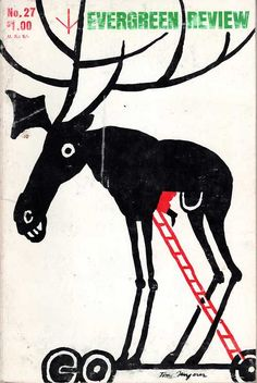 Evergreen Review #27Cover art: Tomi Ungerer  Source: Reality Studio