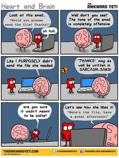 The Awkward Yeti :: email tone | Tapastic - image 1