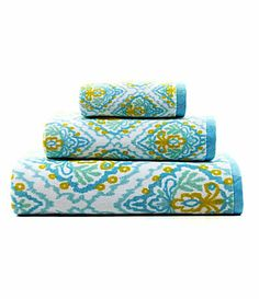 Dena Home Ikat Bath Towels Towels Bath And Home