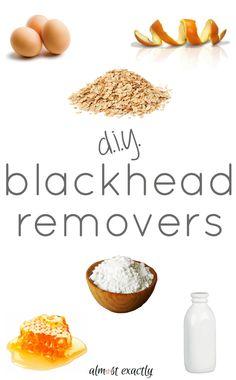 diy blackhead removers