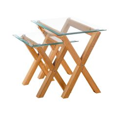 All Home Strandfield 2 Piece Nest of Tables & Reviews | Wayfair UK