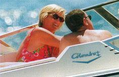 Princess Diana & Dodi-- Holiday--1997