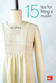 15 tips for fitting a muslin