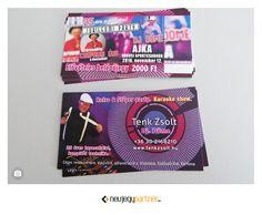 Dj Döme névjegykártya November 12th, Karaoke, Retro, Cover, Rustic, Slipcovers