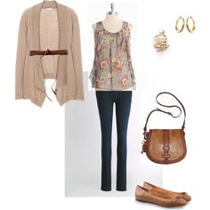 casual outfit, created by liz2012 on Polyvore