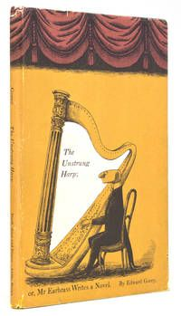 The Unstrung Harp; Earbrass Writes a Novel by Edward Gorey New York: Duell, Sloan and Pearce, First edition, first printing. Missing orig Karen O'neil, Book Cover Design, Book Design, Edward Gorey Books, John Kenn, Max Ernst, Scrapbook, Ink Pen Drawings, Musical
