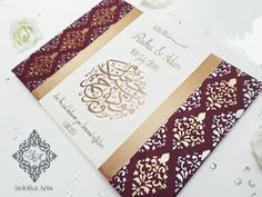 Islamic wedding gift canvas