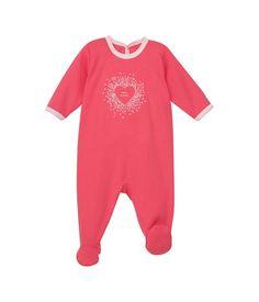 Baby-Strampler aus Baumwolle mit ABC-Aufdruck