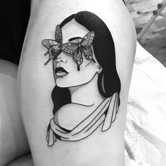 A selection of tattoos for women. Top 2019 A selection of tattoos for women. Body Art Tattoos, New Tattoos, Girl Tattoos, Sleeve Tattoos, Tatoos, Face Tattoos For Women, Illustration Tattoo, Rock Tattoo, Aesthetic Tattoo