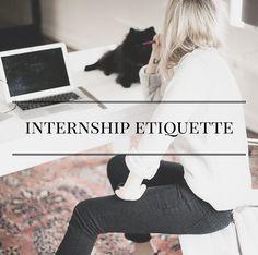 Internship Etiquette   alyssajfreitas.blogspot.com