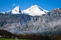 Watzmann Mountain, Berchtsgaden, Germany