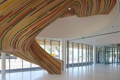 Amazing Staircases Design at the School of Arts by Tétrarc Architects ~ DesignDaily Network