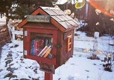 Little Free Libraries have been popping up all over the place. The mission of this free book swapping community is to build more than 2,510 libraries worldwide. Join in the effort and start building one of your own!