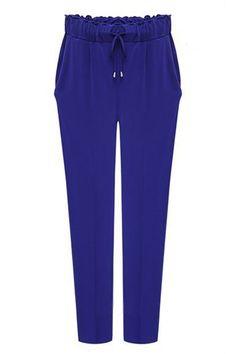Blue Royal Pants Drawstring