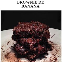 Brownie de banana