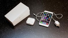 What's inside of iPhone 6 & Plus box