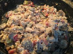 Mushroom Chicken Sausage Casserole