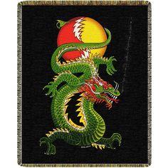 Grateful Dead Dragon Blanket